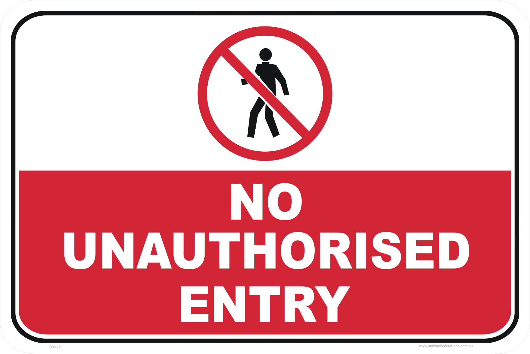 No Unauthorised Entry