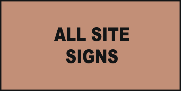All Site Signs