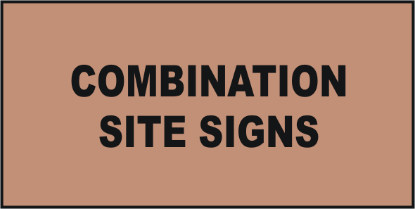 Site Combination Signs