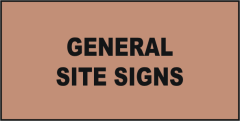 Site General Signs
