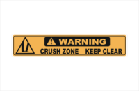 Crush Zone Keep Clear