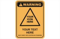 Design a Warning Sign