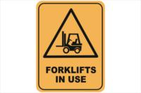 Forklift sign Gold Coast