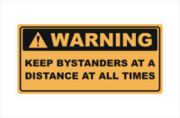 Keep Bystanders at a Distance