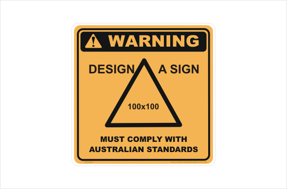 Design a Warning Sticker