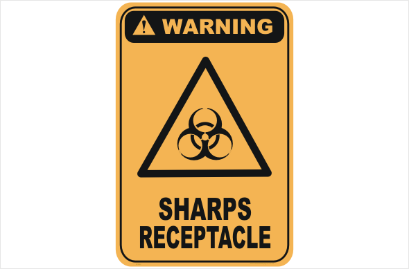 Sharps Receptacle