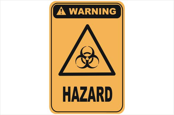 biological hazard, biohazard