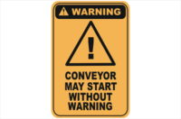 conveyor may start