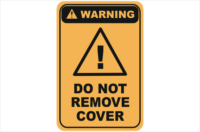 Do Not Remove Cover