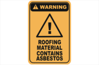 roofing contains asbestos