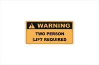 two person lift required
