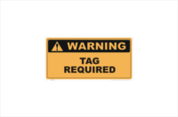 Tag Required