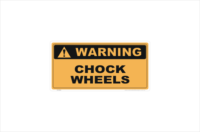 chock wheels
