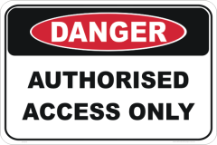 authorised access only
