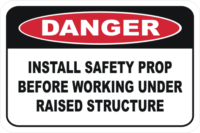 Install Safety prop