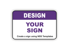 Design a Custom Sign