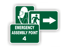 Emergency and First Aid Signs