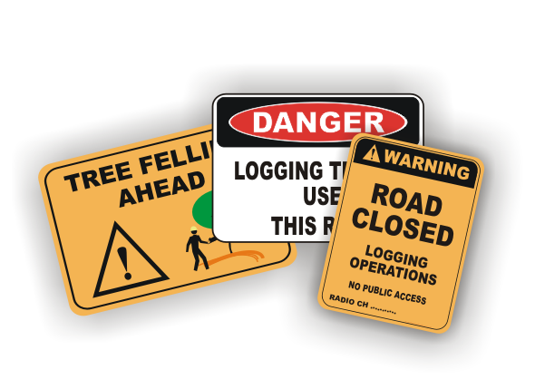Forestry and Tree Services Signs