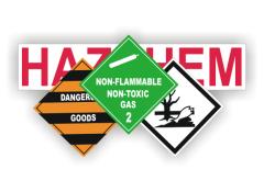Hazchem and Dangerous Goods Signs