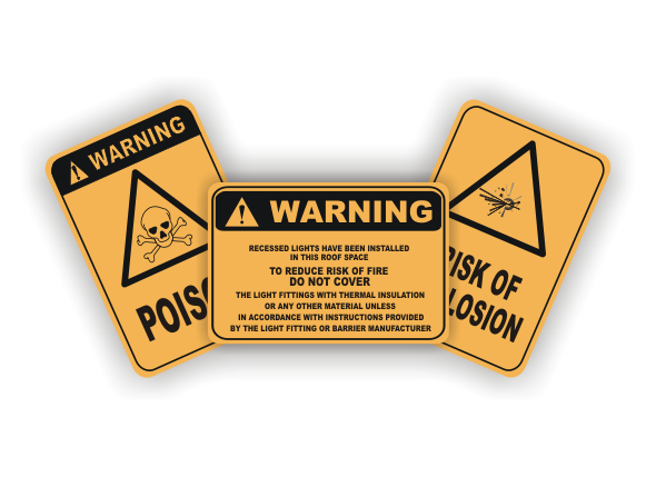 warning safety signs - AS1319-1994
