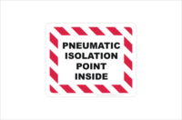 Pneumatic Isolation Point inside