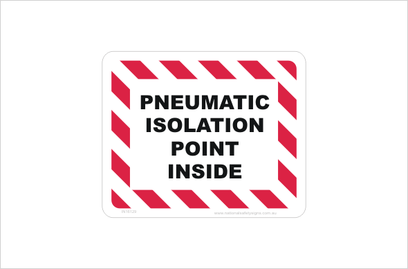Pneumatic Isolation Point inside