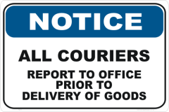 Couriers Report to Office