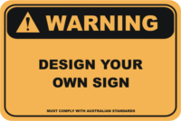 Design your own Warning Sign