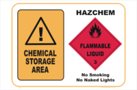 Chemical Storage HazChem #3
