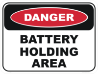 Battery Holding Area