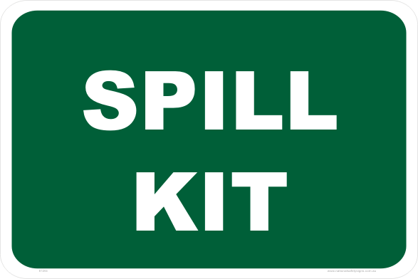 Spill Kit Stickers