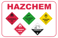 HazChem advice