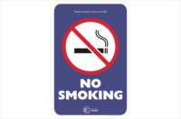 WA No Smoking Sign