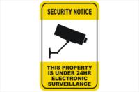 CCTV 24hr electronic surveillance