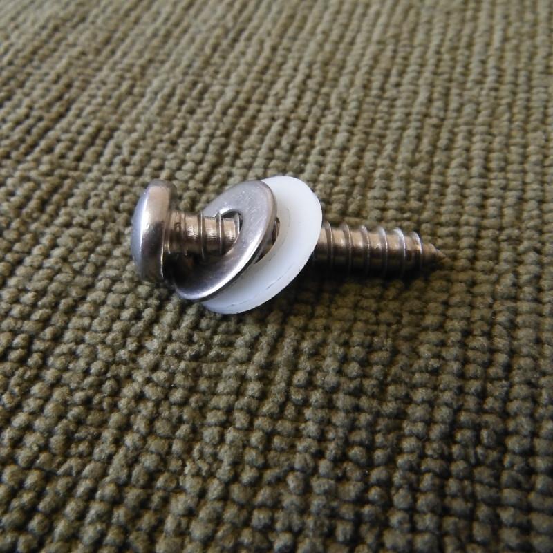 Sign fixing screw