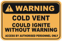 Cold Vent warning