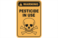 Pesticide in use