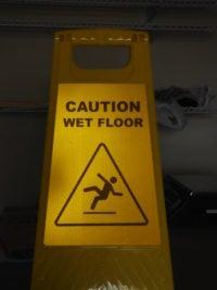 Reflective Wet Floor Sign Stand