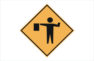 Workmen Sign