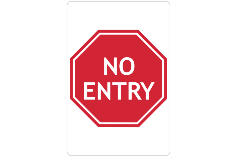 no entry signs road signs business signs traffic signs