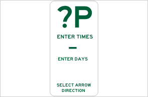 parking DESIGN A SIGN