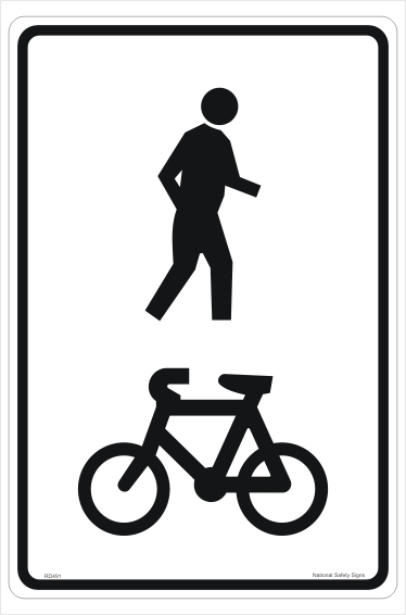 Shared Path Sign