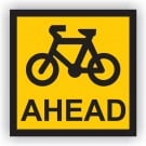 Cyclist Ahead Sign
