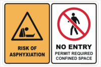 Asphyxiation sign