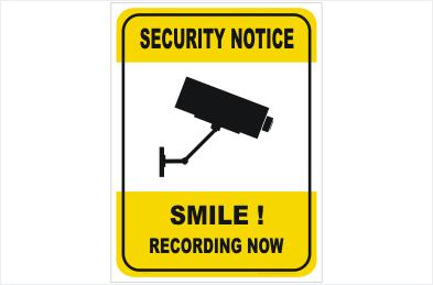 Security CCTV Camera Recording Now