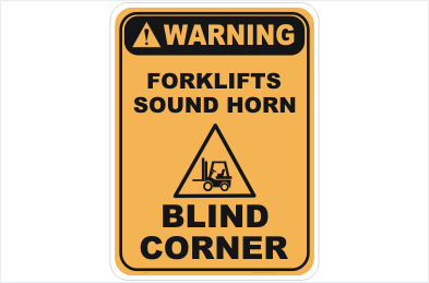 Forklifts Sound Horn Blind Corner