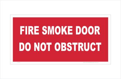 Fire Smoke Door