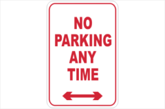 Parking Signs - No Parking Signs Online