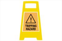 Trip Hazard Porta Board sign