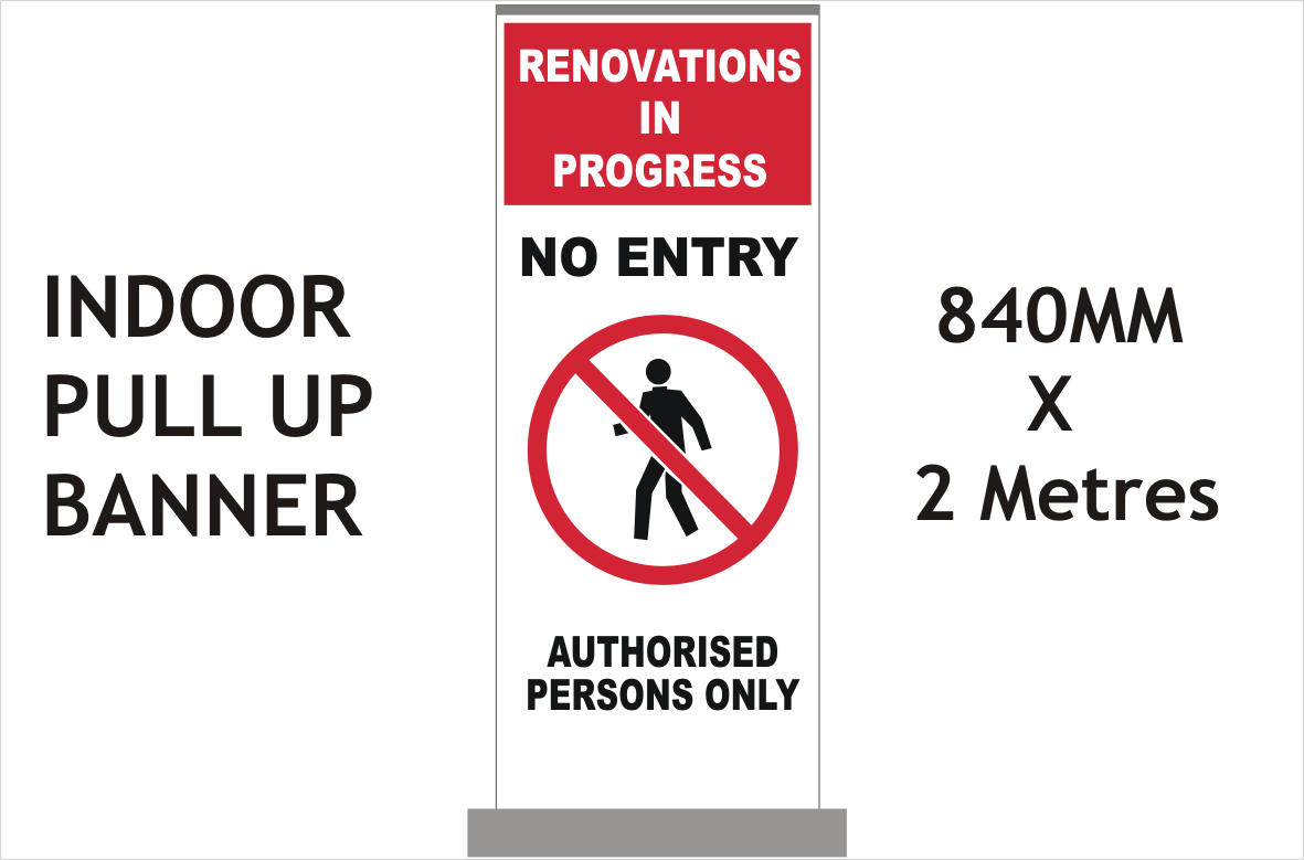 Renovations Safety banner